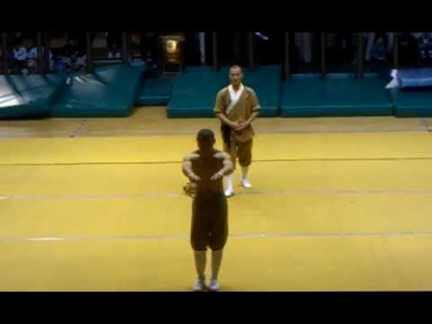 Shaolin Kungfu Show at III International Kungfu Wushu Tournament 2012 part 1
