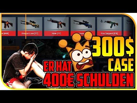 Gamble Sucht, Er hat 400€ Schulden ► 300$ Case   Holyboost Opening Cs Go