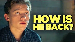 Spider-Man Far From Home - AFTER ENDGAME? New Timeline Explained!