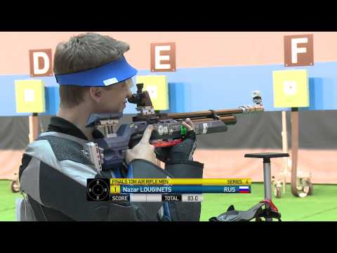 Finals 10m Air Rifle Men - ISSF World Cup Final in all events 2014, Gabala (AZE)