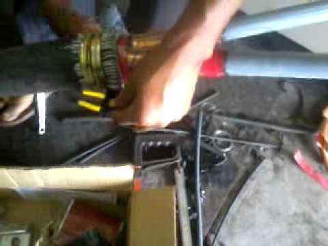 making of 11 KV HT XLPE ( E ) Cable Heat shrink End Termination  part - 3
