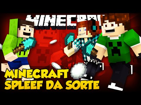 Spleef da Sorte: A MULHER PELADA !! - Minecraft