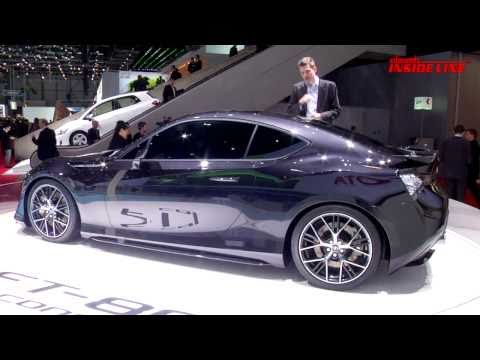 Toyota FT-86 II Concept @ 2011 Geneva Auto Show