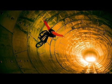 BMXing through a construction site - Red Bull Tube Check