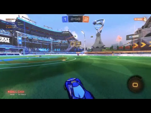 Rocket league - Ranked 3s champ gameplay