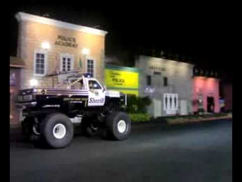 monster truck police academy Ancol