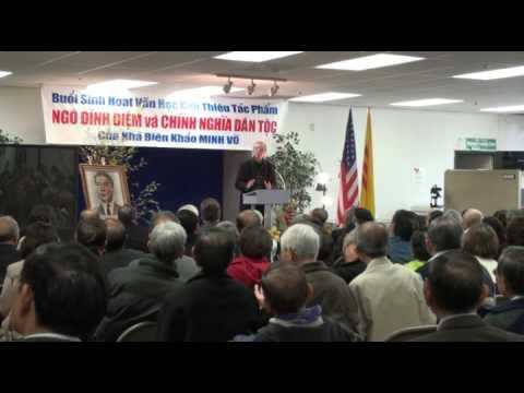 Ra mắt tác phẩm Ngô Đình Diệm và Chính Nghĩa Dân Tộc tại San Jose 21/3