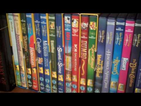 disney dvd collection youtube