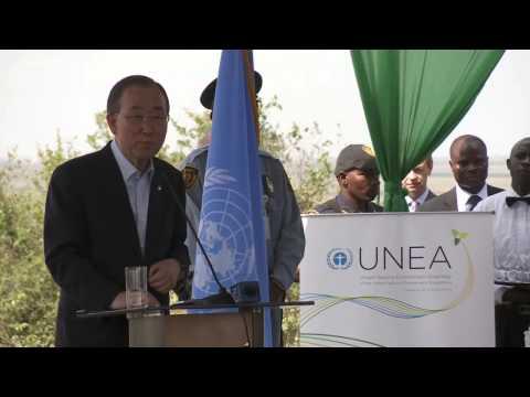 Ban Ki moon concludes visit to Kenya