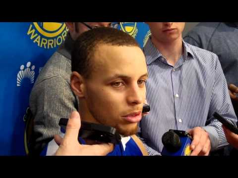 Stephen Curry on Klay Thompson's recent struggles