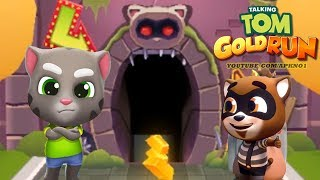Talking Tom Gold Run Android Gameplay - Talking Tom Catch the Raccoon Ep 1