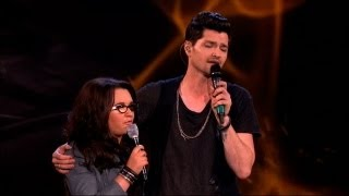 The Voice UK 2013 Danny And Andrea Duet: 'Hall Of Fame