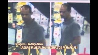 Suspeito de roubar cerca de 30 farm�cias em Belo Horizonte � preso