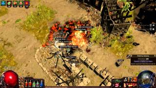 """The """"Immortal"""" Melee Marauder Build [Path Of Exile]"""
