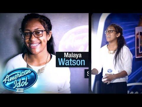 Thisisreal malaya watson american idol season xiii youtube
