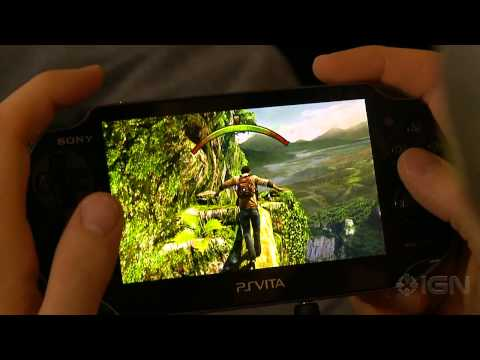 10 Minutes of Uncharted: Golden Abyss Gameplay [Off Screen]