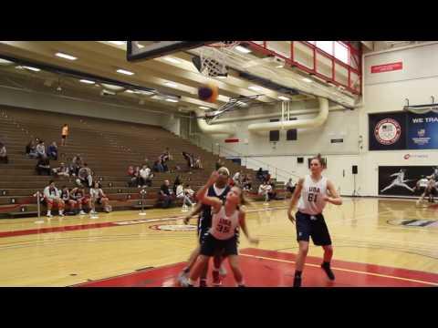 2017 USA Basketball Women's 3x3 National Tournament Day 1 Video Highlights