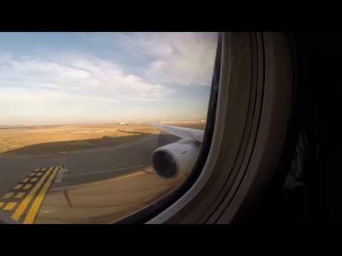 Hawaiian Airlines 767-300ER takeoff from Oakland