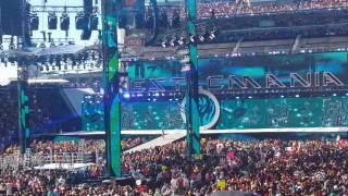 Wrestlemania 31 IC title ladder match entrances!!