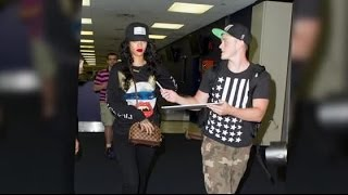 Rihanna Gets Angry At A Fan Wanting To Take A Picture