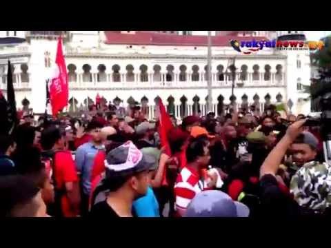 Himpunan Bantah GST : Pergaduhan Antara Unit Amal & SAMM / ANARKI