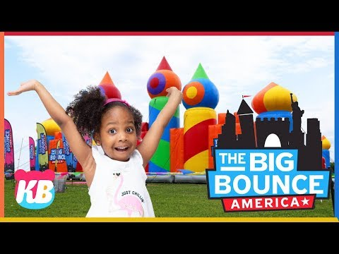 World's Biggest Bounce House | Fun with Kamdenboy & Kyraboo