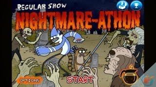 Regular Show Nightmare Athon IPhone & IPad Gameplay