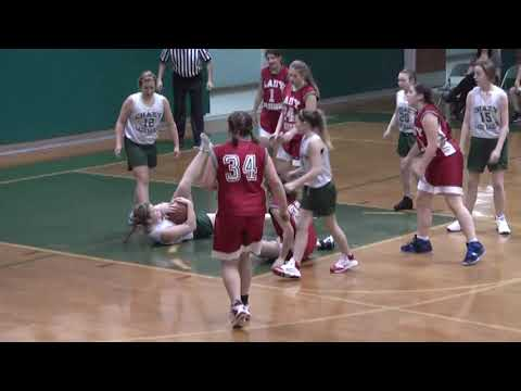 Chazy - Willsboro Mod Girls 1-21-11