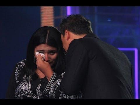 Yo Soy: Ana Gabriel lloró en el escenario tras cantar