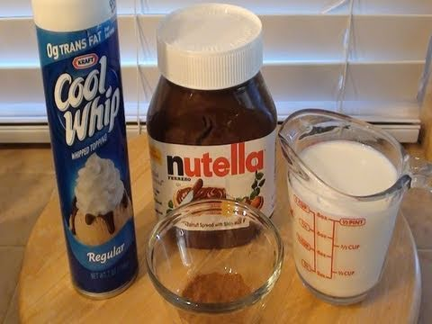 "How To: Make Nutella Hot Chocolate, Check out my ""proper"" channel if you enjoy makeup and such: http://www.youtube.com/user/missglamorazzi Follow me on that Twitter thing if you'd like: http://..."
