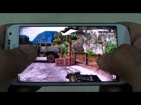 SAMSUNG GALAXY S4 MINI BATTLE FIELD BAD COMPANY GAMEPLAY