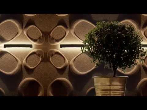 PANELE ŚCIENNE 3D Z DEKORACYJNĄ POWŁOKĄ KWARCOWĄ - MYWALL3D
