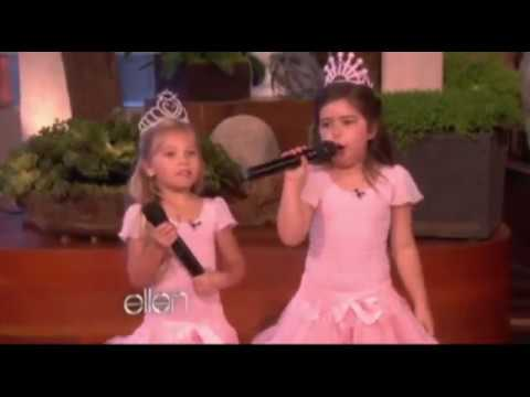 Little girls rapping ellen degeneres show youtube - Ellen show videos ...