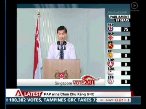 Yam Ah Mee - Returning Officer Extraordinaire [SG Elections 2011]