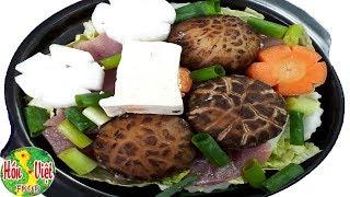 ✅ Ngày Lạnh Nấu Món Canh Nấm Đậu Phụ Kiểu Nhật Ngon Mê Mẩn | Hồn Việt Food