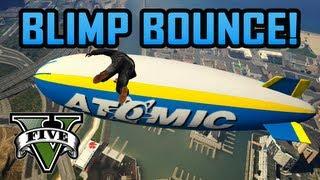 GTA V Stalled A Plane, Atomic Blimp Bounce, & Pedo Van