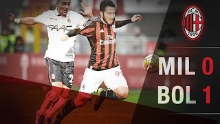 AC Milan-Bologna 0-1 | AC Milan Youth Official HD