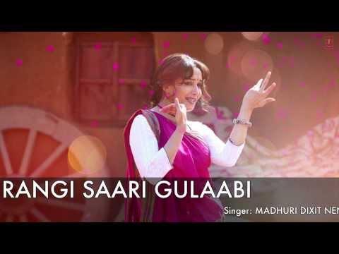 Rangi Saari Gulaabi Full Song (Audio) Gulaab Gang | Madhuri Dixit, Juhi Chawla