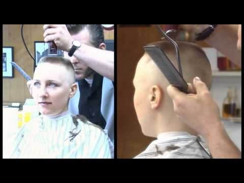 Preview clip of calley s barbershop flat top and head shave youtube