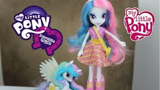 My Little Pony Celestia Doll And Pony Set Review-MLP
