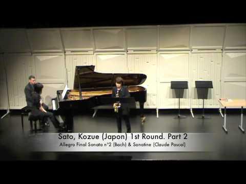 Sato, Kozue (Japon) 1st Round. Part 2