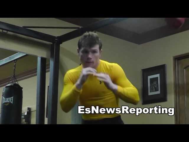 CANELO ALVAREZ IN CAMP FOR PERRO ANGULO EsNews Boxing