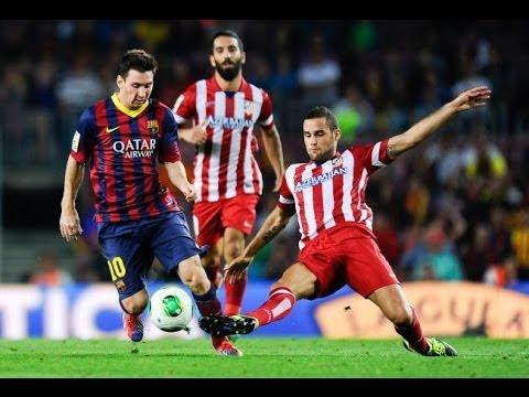 """""""Camp Nou"""" Barcelona vs Atletico Madrid Highlights UEFA CL 1/4 Final 2013/2014"""