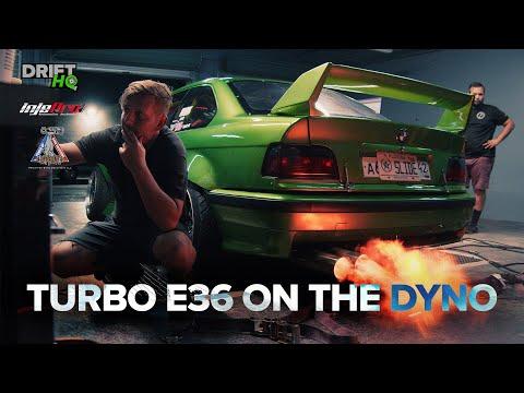 BMW E36 Turbo da Drift HQ nos Estados Unidos