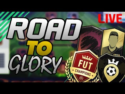 FIFA 18 FUT CHAMPIONS LIVE!!