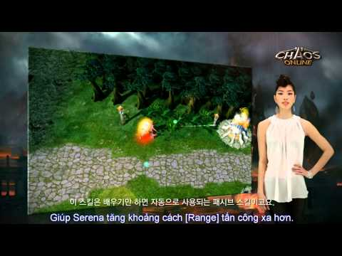 Chaos Online - Hero Serena - Hướng Dẫn Hero (MOBA)