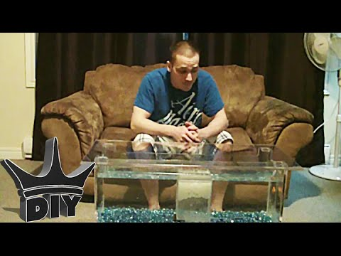 HOW TO: Coffee Table Aquarium