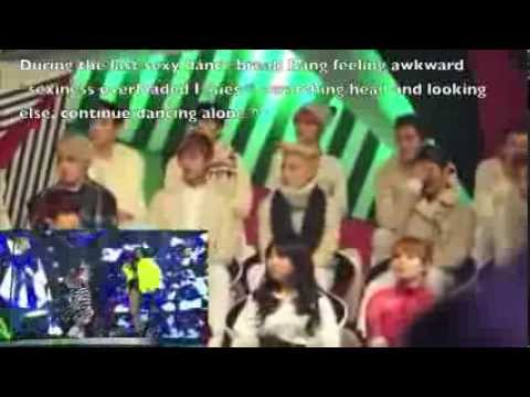 Gayo Daejun 131229 (Perf include) B.A.P & Infinite watching CL and Hyori's Baddest Female