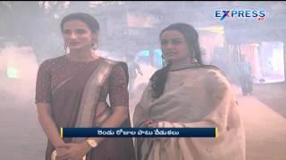Akkineni Amala & Namrata Attend Gudi Sambaralu at Shaikpet