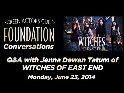 Conversations with Jenna Dewan Tatum of WITCHES OF EAST END